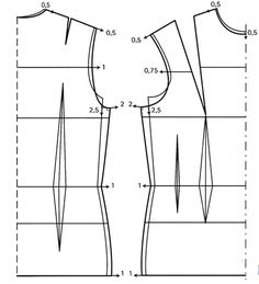 Couture sewing tutorials!! Excellent step-by-step instructions on all sorts of alterations....