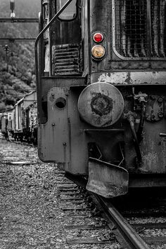 Old train by KennethMlgaardPhoto on Etsy