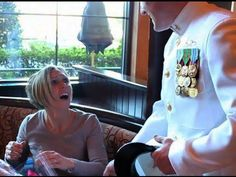 [VIDEO] Navy Chief Surprises Wife at Cheesecake Factory After Deployment in Afghanistan