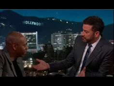 Dave Chapelle Asked About Flat Earth On Jimmy Kimmel Live