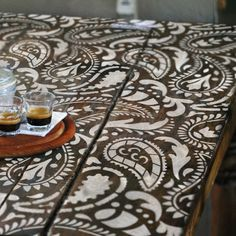 Hey, I found this really awesome Etsy listing at https://www.etsy.com/listing/278744304/taj-mahal-indian-furniture-stencil-craft