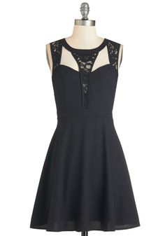 Snazzy and You Know It Dress. You always receive countless compliments on this little black dress, but nothing compares to how you feel wearing it! #black #modcloth