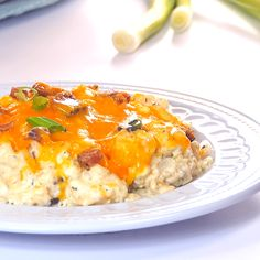 Keto Best Friends Casserole is one of those keto make ahead meals that is perfect for meal prep, intentional leftovers, pot lucks or school functions. Adapted from a traditional loaded keto cauliflower casserole recipe. #easyketo #ketodinnerrecipes #ketorecipes #lowcarbcasserole #ketocasserole #ketocauliflower #cauliflower #bacon #chicken #chickenrecipes #quickandeasy #makeahead #mealprep #kidfriendlyrecipes