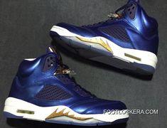 "buy online 54e50 e0fc5 Nike Air Jordan 5 ""Bronze"" Obsidian White-Metallic Red Bronze-Bright Grape"