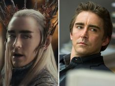 lee pace hobbit << I just realised that Ronan and Thranduil are the same actor. O_O