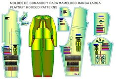 moldes de comando infantil Bb, Industrial, Templates, Dress Patterns, Sewing Patterns, Toddler Cowl, 12 Year Old, School Clothing, Industrial Music