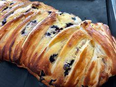 Heidelbeere-Topfen-Strudel Baking Party, Muffins, Food And Drink, Butter, Bread, Cooking, Sweet, Desserts, Stollen