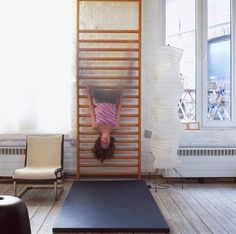 Climbing Wall in Melrose from OWI, Remodelista
