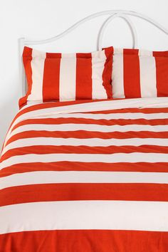Cabana Stripe Duvet Cover Available in Twin XL