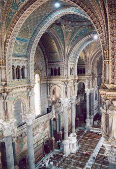 Basilique Notre-Dame de Fourviere (1896), Marseille, France