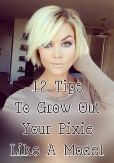 Check out these 12 tips to grow out your pixie like a model, from Lisa Brown Design: Lately when it comes to hair, I'm starting to look toward Pintrest for inspiration, especially when it comes to growing out short pixie hair. There certainly is no shortage of beautiful ladies on Pintrest growing out their pixie. Here's a collection of some [...]