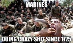 ❤ Usmc Humor, Marine Corps Humor, Us Marine Corps, Marine Memes, Once A Marine, My Marine, Hero Quotes, Usmc Quotes, Quotes Quotes