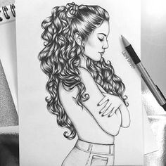 Venny - Day by AngelGanev on DeviantArt Girl Drawing Sketches, Girly Drawings, Princess Drawings, Portrait Sketches, Sketch Painting, Art Drawings Beautiful, Cool Art Drawings, Realistic Drawings, Abstract Pencil Drawings