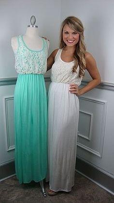 Cute long summer dresses