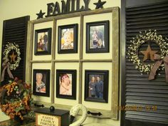 I WANT TO DO THIS!! Primitive Decor-love this