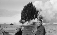 The formation of Syrtlingur, a small island off the coast of Iceland in 1965.
