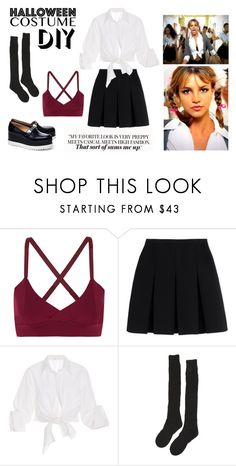 """Hit me baby one more time"" by takacseszterlilla ❤ liked on Polyvore featuring Live the Process, Alexander Wang, Johanna Ortiz, Samantha Holmes, Karl Lagerfeld, Britney Spears, halloweencostume and DIYHalloween"