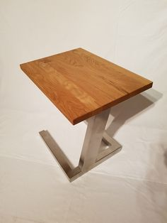 Beistelltisch GRACE Laptop Table, Drafting Desk, Home Furniture, Diy And Crafts, Stool, Design, Home Decor, Rustic, Stainless Steel