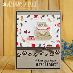 Cut Cat, Cat Cards, Greeting Cards, Paper Pumpkin, Card Maker, Autumn Theme, Crafty Projects, Stamping Up, Stampin Up Cards