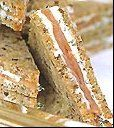Smoked Salmon Sandwiches on Pumpernickel, How To Make Tea Sandwiches, Sandwich Recipes, Tea Sandwiches