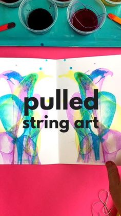 Pulled String Art