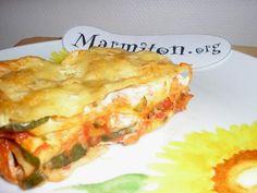 Lasagnes végétariennes (facile) : Recette de Lasagnes végétariennes (facile) - Marmiton