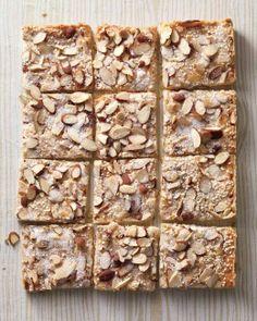 Gingered Sesame-Almond Shortbread Bark Recipe