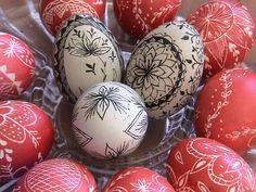ΑΥΓΑ ΖΩΓΡΑΦΙΣΜΕΝΑ ΜΕ ΜΕΛΙΣΣΟΚΕΡΙ. Πασχαλινά παραδοσιακά αυγά…