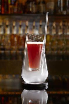 The Artesian Bar  Selfie Compatible 40 ml. Zacapa 30 ml. Floc De Gascogne 15 ml. Verjus 5 ml. Campari 2 dashes Peychaud's 40 ml. Partizan Pale Ale