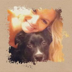tay and her dog