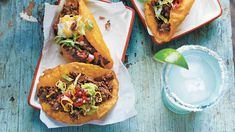 Taco Recipes - Southern Living - These tasty recipes will make a case for celebrating Taco Tuesday every night of the week.