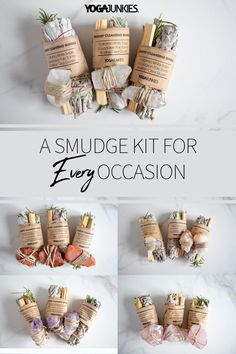 Find your perfect smudge kit in our ETSY shop! Sugar Scrub Diy, Diy Scrub, Homemade Gifts, Diy Gifts, Herbal Magic, Smudge Sticks, Book Of Shadows, Candle Making, Diy Crafts To Sell