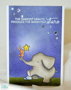 Bright stars | Mama Elephant & share handmade kindness challenge  #sharehandmadekindness