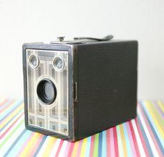 vintage kodak brownie box camera