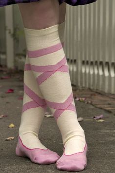 Socks by Sock Dreams » Ballerina Knee High
