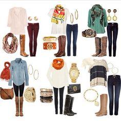 Moda con botas #invierno #moda