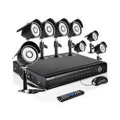 Zmodo 16CH Complete Video DVR Security Surveillance Camera System With 8 Outdoor Night Vision IR Camera With 1TB Hard Drive ** Find out more about the great product at the image link.