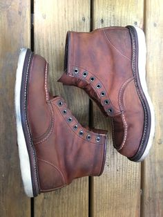 Red Wing 1907 after Saddle Soap