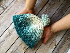 Free Crochet Pattern - 1 Hour Baby Scarfie Hat by Amanda Saladin