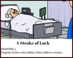 Pit of Shadows #fantasy CHAPTER 5: A STROKE OF LUCK - Tragedy strikes when Billy's Nan suffers a stroke. Shadows, Fantasy, Children, Character, Young Children, Darkness, Boys, Kids, Fantasy Books