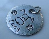 stamped tag