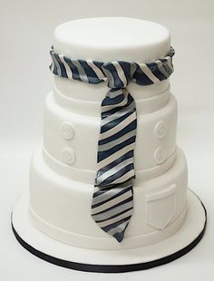 Lulu Scarsdale - Celebrations & Milestones (this would also make a cool chefs cake - just change the tie)