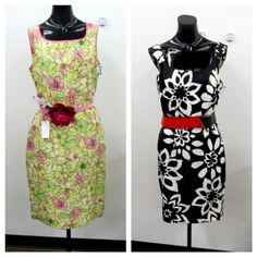 Love flower power? Goodwill does too and your local stores have lots to offer! Dress one 5.99, Belt one 2.99, Dress two 5.99, Belt two 1.99.