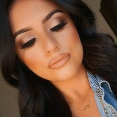 Deanna Paley @deelishdeanna Instagram Key Products used: Mac 'All that Glitters' & Nars 'Galapagos' eyeshadows @anastasiabeverlyhills dipbrow in 'Chocolate' on the brows. 'Samantha' lashes by @hudabeauty. 'Cantaloupe' blush by Mac. Lips are 'Pure Hollywood' by #AnastasiaBeverlyHills with 'Spice' lipliner and 'Love Nectar' gloss both Mac. Honeycomb necklace from ShopDeelish.com