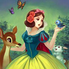 Snow White anime