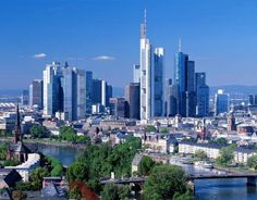 Frankfurt, Germany  Travel by plane (Singapore Airlines) then beautiful train station, train to Dusseldorf