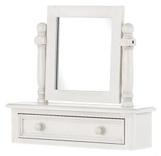 French Painted Trinket Mirror  http://solidwoodfurniture.co/product-details-pine-furnitures-2816-french-painted-trinket-mirror-.html