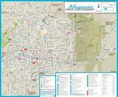Albuquerque old town and downtown map New Community Asset Map