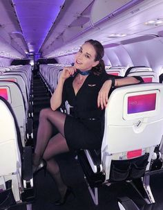 Featured Cabin Crew: ---- Airline: Country: ---- for more feature ---- Visit our website to view the most beautiful Cabin Crew in the world. Very Beautiful Woman, Beautiful Young Lady, Airline Uniforms, Hot Cheerleaders, Pantyhose Legs, Great Legs, Cabin Crew, Sexy Skirt, Working Woman