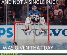 And not a single puck was given that day. Hockey memes